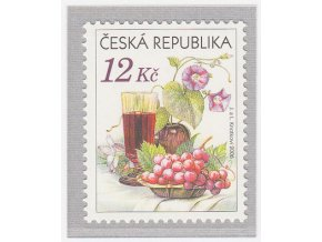 ČR 2006 / 467 / Zátišie s vínom