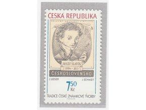 ČR 2007 / 502 / Tradícia českej známkovej tvorby
