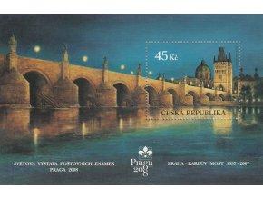 ČR 519 H Praha - 650. výročie Karlovho mosta, Praga 2008