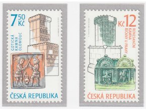 ČR 521-522 Umelecké remeslá - historické kachle