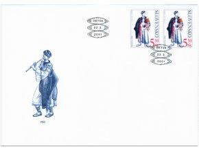 SR 2001 / 228-229 / Kroje FDC (2)