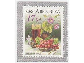 ČR 2008 / 545 / Zátišie s vínom