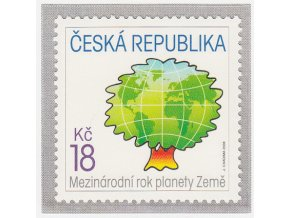 ČR 546 Medzinárodný rok planéty Zem