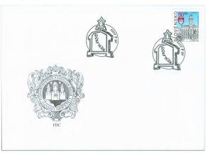 SR 2001 / 233 / Mestá - Komárno FDC