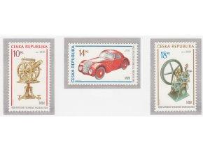 ČR 2008 / 556-558 / 100. výročie Národného technického múzea