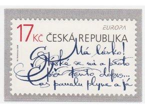 ČR 560 EUROPA - písanie dopisov