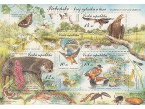 ČR 2008 / 563-566 H / Ochrana prírody - Třeboňsko