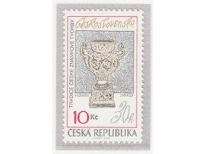 ČR 2010 / 619 / Tradícia českej známkovej tvorby