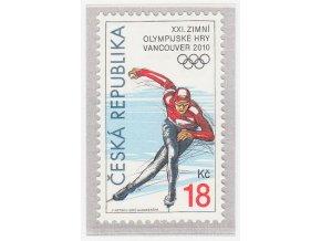 ČR 2010 / 621 / Zimné olympijske hry Vancouver