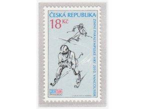 ČR 2010 / 622 / Zimné paralympijske hry Vancouver
