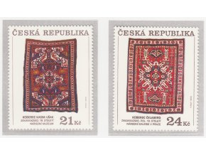 ČR 628-629 Zakaukazské koberce