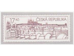 ČR 631 Pražský hrad na známkach