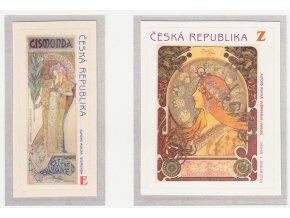 ČR 634-635 150. výročie narodenia A. Muchu