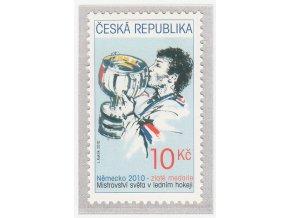 ČR 2010 / 641 / MS v ľadovom hokeji - zlatá medaila