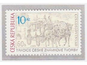 ČR 667 Tradícia českej známkovej tvorby