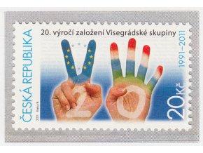 ČR 673 20. výročie založenia V4
