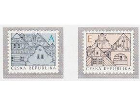 ČR 674-675 Ľudová architektúra