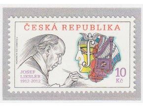 ČR 2012 / 708 / Tradícia českej známkovej tvorby