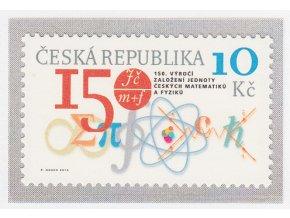 ČR 714 150. výročie Jednoty českých matematikov a fyzikov