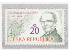 ČR 2012 / 716 / Johann Gregor Mendel