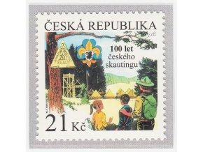 ČR 718 100. výročie založenia českého skautingu