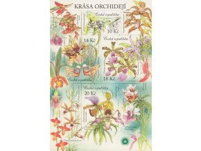 ČR 730-733 H Krása orchidejí