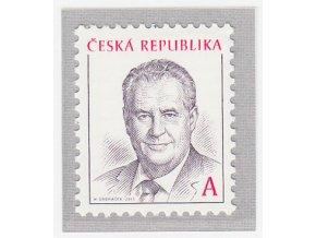 ČR 761 Prezident ČR Miloš Zeman