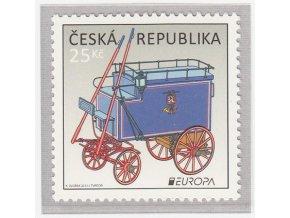 ČR 762 EUROPA - Poštové dopravné vozy
