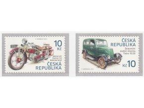 ČR 768-769 Historické dopravné prostridky II.