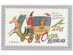ČR 2013 / 770 / 130 rokov poštového bankovníctva