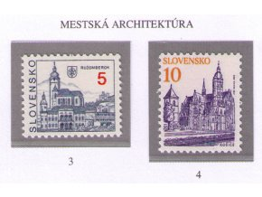 SR 1993 / 003-004 / Mestá - Ružomberok, Košice