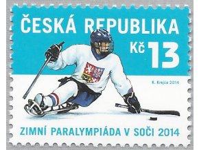ČR 2014 / 798 / Zimné paralympijské hry Soči