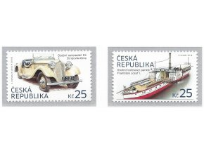 ČR 2014 / 810-811 / Historické dopravné prostriedky II.