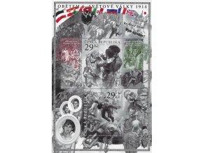 ČR 2014 / 812-813 H / Obetiam I. sv. vojny