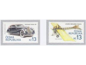 ČR 2015 / 838-839 / Historické dopravné prostriedky I.