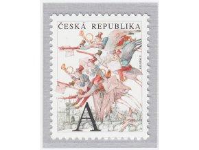 ČR 841 Pošta na krídlach