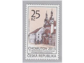 ČR 2015 / 844 / Chomutov - VI. českoněmecká filatelistická výstava