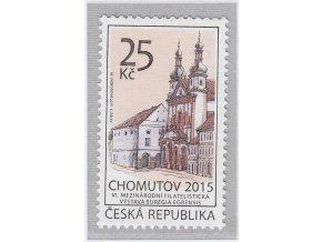 ČR 844 Chomutov - VI. českoněmecká filatelistická výstava