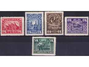 ČS 1945 / 0403-0407 / 1. výročie SNP  **