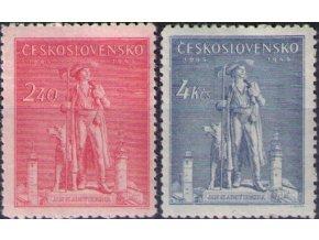 ČS 1945 / 0431-0432 / Jan Sladký Kozina  **