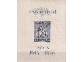ČS 1946 / 0435 H / 1. výročie májového povstania  **