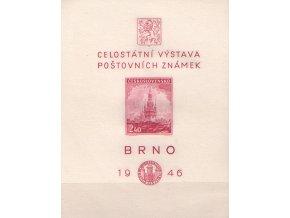 ČS 1946 / 0437 H / Brno 1946  **