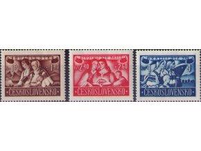 ČS 1946 / 0440-0442 / Návrat do vlasti  **