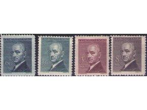 ČS 1946 / 0443-0446 / Dr. E. Beneš  **