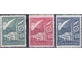 ČS 1947 / 0447-0449 / Dvojročný plán  **