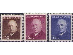 ČS 1948 / 0464-0466 / Dr. E. Beneš  **