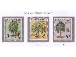 SR 007-009 Ochrana prírody - stromy