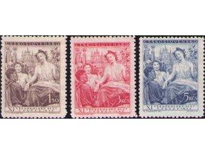 ČS 1948 / 0467-0469 / XI. všesokolský zlet  **