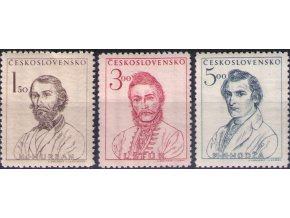 ČS 1948 / 0481-0483 / Sté výročie Slovenského povstania  **