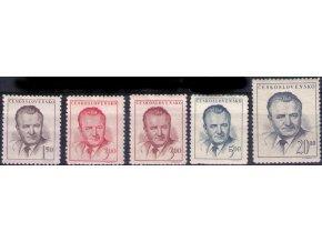 ČS 1948 / 0485-0489 / K. Gottwald  **